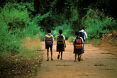 four girls stock photography | India, Goa, Schoolchildren, image id 0-613-5