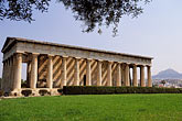exterior stock photography | Greece, Athens, Ancient Agora, the Thesseion, (Temple of Hephaestus), image id 3-650-19
