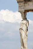 greece stock photography | Greece, Athens, Acropolis, Porch of the Caryatids, Erectheion, image id 7-640-289