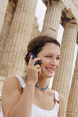 greece stock photography | Greece, Woman on mobile phone, image id 7-640-514