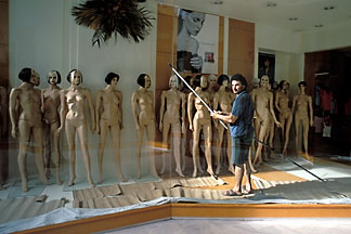 9-254-66  stock photo of Greece, Athens, Mannequins in shop window
