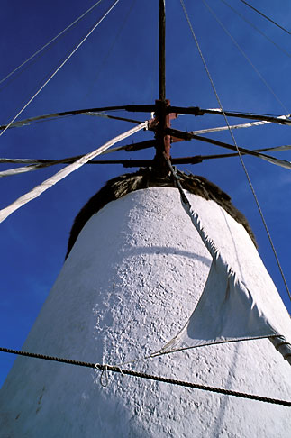 image 9-260-6 Greece, Mykonos, Windmill