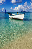 fishing boats stock photography | Grenada, Carriacou, Paradise Beach, image id 3-590-25