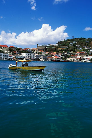 image 3-590-32 Grenada, St Georges, Carenage Harbor