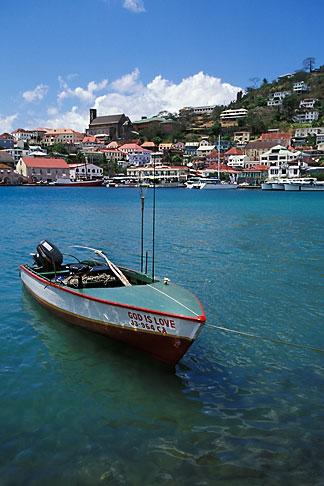 image 3-590-34 Grenada, St Georges, Carenage Harbor