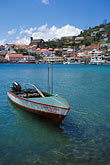 fishing boats stock photography | Grenada, St. George�s, Carenage (Harbor), image id 3-590-34