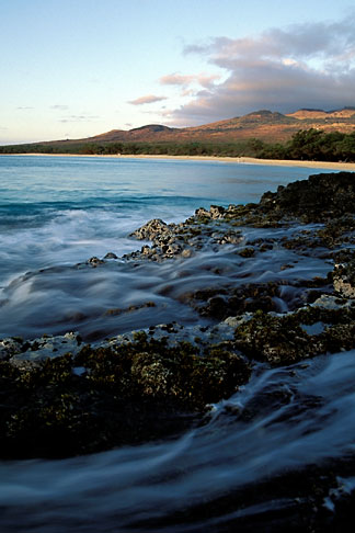 image 4-9-31 Hawaii, Maui, Evening light, Makena Beach