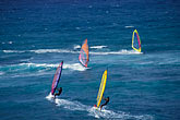 sail stock photography | Hawaii, Maui, Windsurfing, Hookipa Beach Park, image id 5-334-26