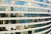 horizontal stock photography | Hong Kong, Reflections in highrise windows, image id 7-680-6242