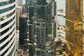 building stock photography | Hong Kong, View of downtown from highrise building, image id 7-680-6243