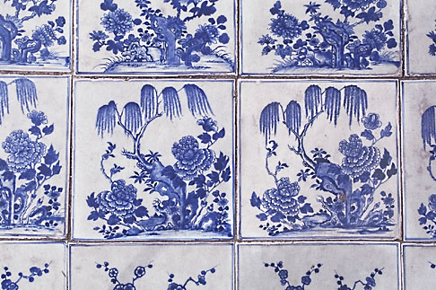 image 7-111-18 Art, Chinese tiles
