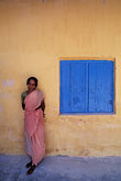 pink stock photography | India, Cochin, Woman at spice warehouse, image id 7-118-32