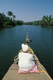 kerala stock photography | India, Kerala, Boatman, coastal backwaters, image id 7-121-35