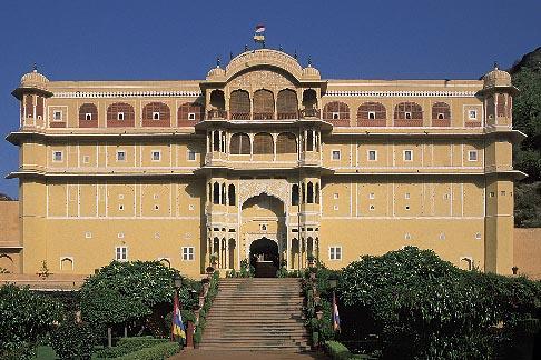 image 7-319-8 India, Rajasthan, Samode Palace