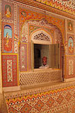 embellished stock photography | India, Rajasthan, Durbar Hall, Samode Palace, image id 7-320-16