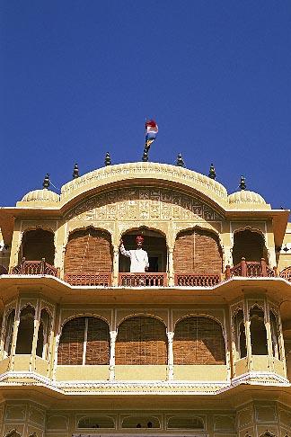 image 7-334-9 India, Rajasthan, Samode Palace