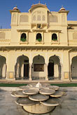 fountain stock photography | India, Jaipur, Rambagh Palace, image id 7-343-5