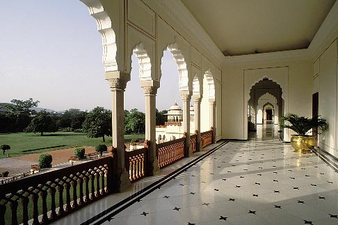 image 7-344-2 India, Jaipur, Rambagh Palace
