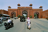 city stock photography | India, Jaipur, City wall, Delhi gate, image id 7-347-15