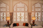 interior stock photography | India, Jaipur, Suite, Rambagh Palace, image id 7-348-2