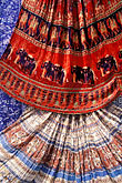 colorful indian fabrics stock photography | India, Jaipur, Rajasthan fabrics, image id 7-349-3