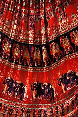 image 7-351-17 India, Jaipur, Rajasthan fabrics