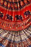 colorful indian fabrics stock photography | India, Jaipur, Rajasthan fabrics, image id 7-351-9
