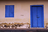 blue stock photography | India, Cochin, Doorway, image id 7-52-12