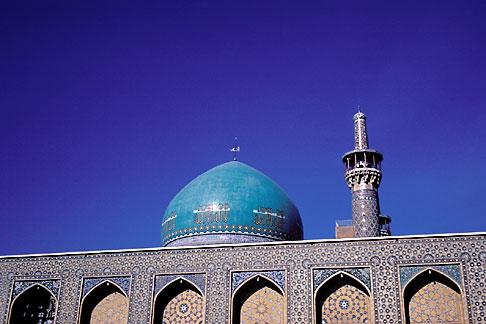 image 0-0-69 Iran, Gawhar Shad mosque, Mashad