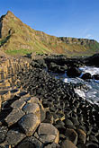 black stock photography | Ireland, County Antrim, Giants Causeway, image id 4-750-24
