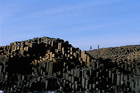 image 4-750-5 Ireland, County Antrim, Giants Causeway