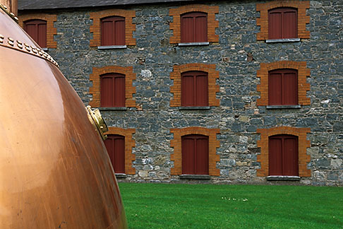 image 4-750-57 Ireland, County Cork, Old Midleton Distillery, Copper vat