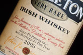 label stock photography | Ireland, County Cork, Old Midleton Distillery, Midleton whiskey, image id 4-750-72