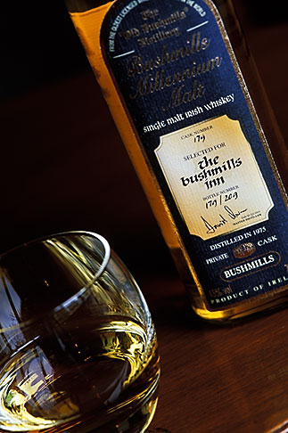image 4-751-53 Ireland, County Antrim, Bushmills SIngle Malt Irish Whiskey