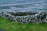 simplicity stock photography | Ireland, County Clare, Stone wall on the Burren, image id 4-752-52