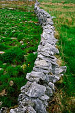 demarcation stock photography | Ireland, County Clare, Stone wall on the Burren, image id 4-752-54