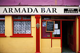 door stock photography | Ireland, County Cork, Kinsale, Armada Bar, image id 4-752-62