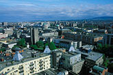 downtown stock photography | Ireland, Dublin, View of city from Smithfield Observation Chimney, image id 4-753-30