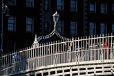hapenny bridge over the river liffey stock photography | Ireland, Dublin, Ha