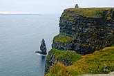 green stock photography | Ireland, County Clare, Cliffs of Moher, image id 4-900-1004