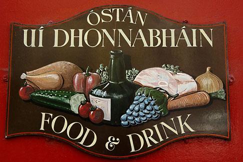 image 4-900-1206 Ireland, County Cork, Clonakilty, ODhonnabhains pub