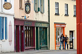 door stock photography | Ireland, County Cork, Kinsale, street scene, image id 4-900-1251