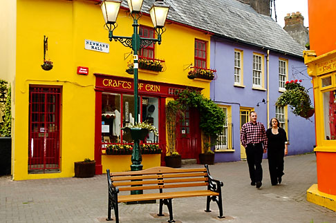 image 4-900-1273 Ireland, County Cork, Kinsale, street scene