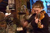 gaelic music stock photography | Ireland, County Cork, Kinsale, Traditional Music, The Bulman Bar and restaurant, image id 4-900-1334