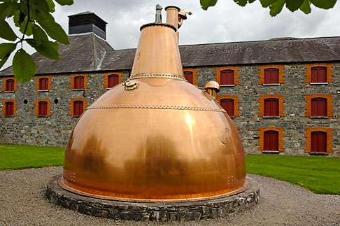 image 4-900-1373 Ireland, County Cork, Old Midleton Distillery, Copper vat