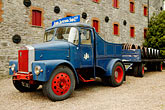 display stock photography | Ireland, County Cork, Old Midleton Distillery, Lorry, image id 4-900-1381