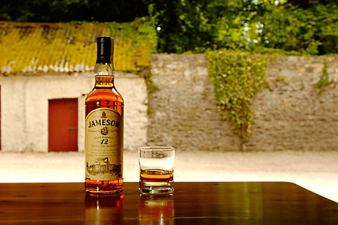 image 4-900-1416 Ireland, County Cork, Old Midleton Distillery, Whiskey and glass