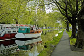 green stock photography | Ireland, Dublin, Grand Canal, image id 4-900-153
