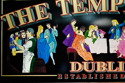 image 4-900-1563 Ireland, Dublin, Temple Bar Pub sign