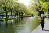 tree stock photography | Ireland, Dublin, Grand Canal, image id 4-900-16